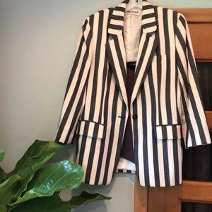 Anne Klein II vintage stripe blazer